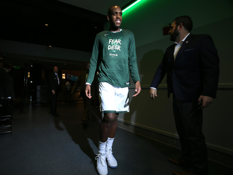 In Photos: Khris Middleton Re-Signs With Milwaukee