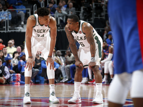 Giannis Antetokounmpo and Eric Bledsoe Selected to NBA All-Defensive First Team