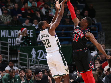 Game Action: Bucks vs Bulls | 12.26.17