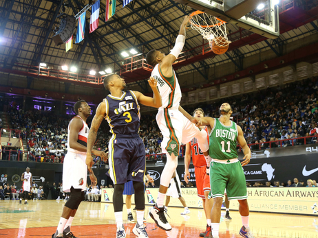 NBA Africa Game Photos