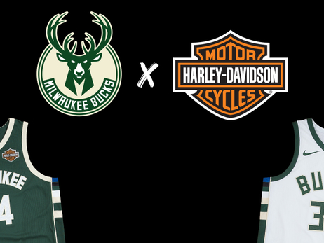 Milwaukee Bucks and Harley-Davidson Roll Full Throttle Into NBA Season with Jersey Patch Sponsorship