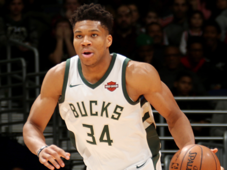 Giannis Antetokounmpo Top 5 In NBA Jersey Sales
