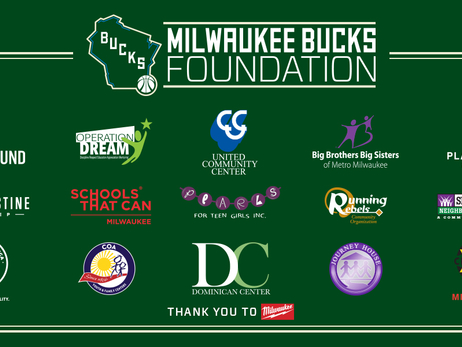 Milwaukee Bucks Foundation Grants $1 Million to Local Nonprofits