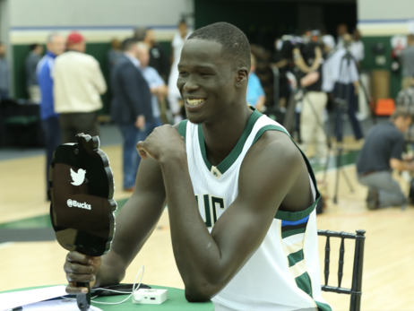 Bucks Media Day 2016: Social Recap