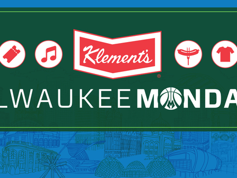 Milwaukee Bucks to Hold Six Klement's Milwaukee Mondays at Fiserv Forum During 2018-19 Season