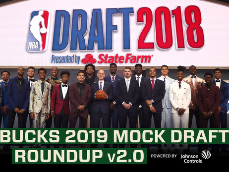 Bucks 2019 Mock Draft Roundup v 2.0