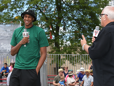 Get the 'Bucks Experience' At Summerfest