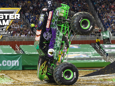 Monster Jam Coming to Fiserv Forum From Jan. 18-19, 2019