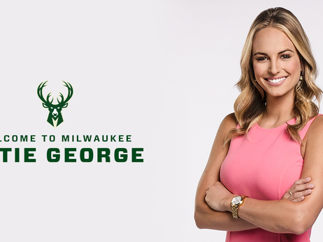 Bucks Hire Katie George As Sideline And Digital Reporter
