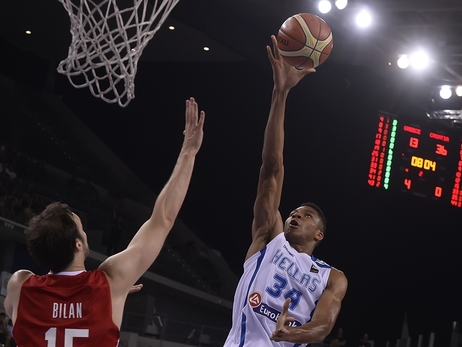 Road to Rio Ends for Giannis, Greece