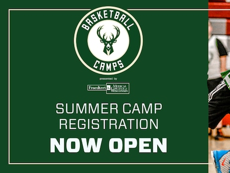Milwaukee Bucks and Froedtert & MCW Health Network to Host Bucks Summer Camps