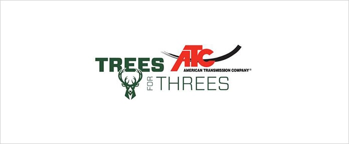 Milwaukee Bucks and American Transmission Co. to Donate 343 Trees to 83 Wisconsin Schools