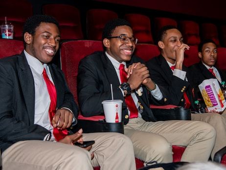 "Bulls Host Students for MLK Jr. Day ""Just Mercy"" Movie Screening"