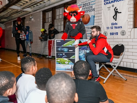 "Bulls and Zenni Host ""Framing the Future"" Community Event"
