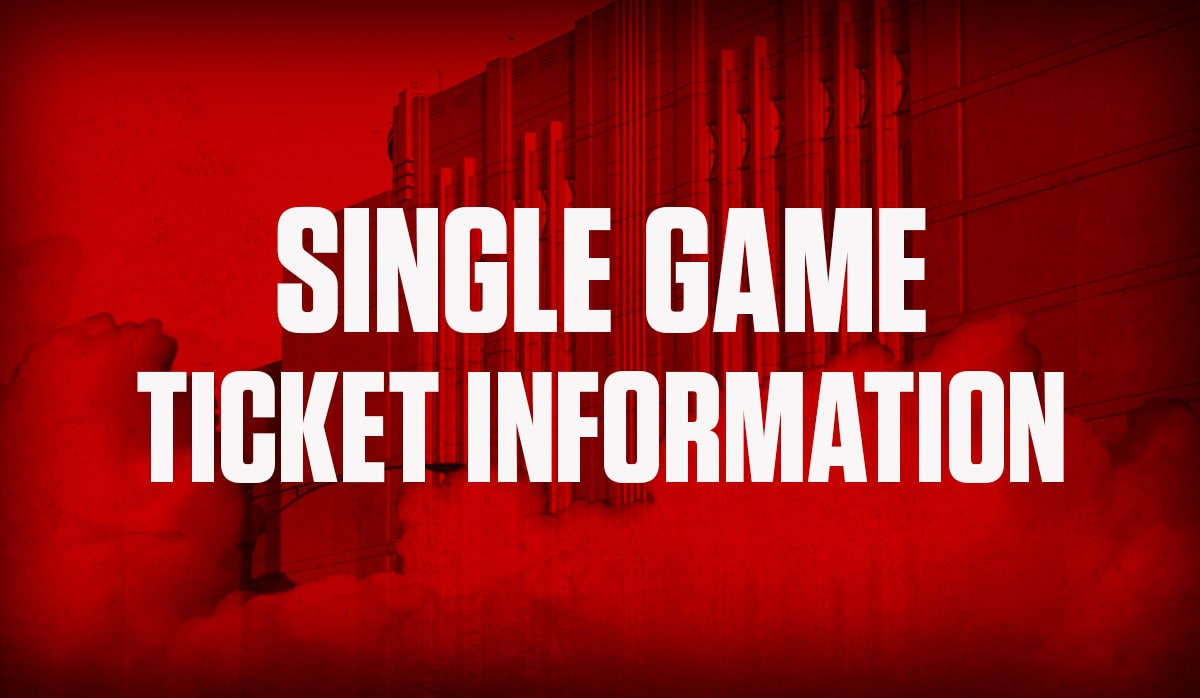 Single Game Ticket Info