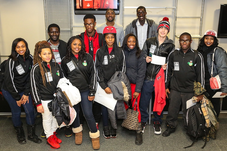 Bulls recognize local students as part of Sprite MVP program