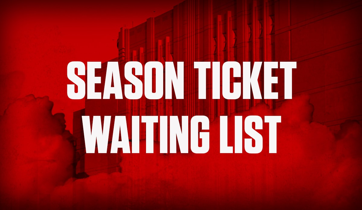Season Ticket Waiting List