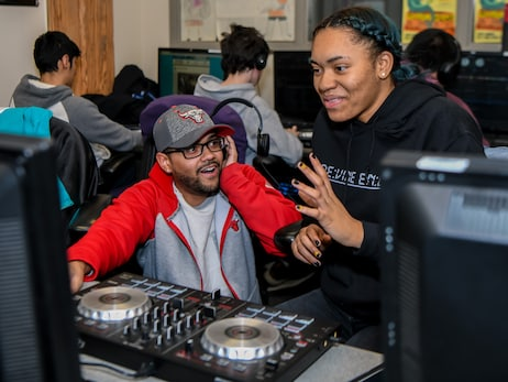 Bulls Entertainment Visits After Schools Matters Students