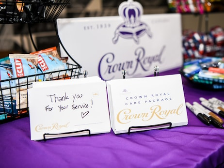 Bulls and Crown Royal Pack Care Packages for Veterans