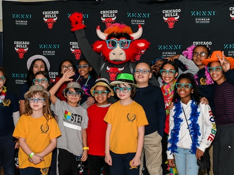 "Bulls and Zenni Tipoff ""Framing the Future"" Community Initiative"