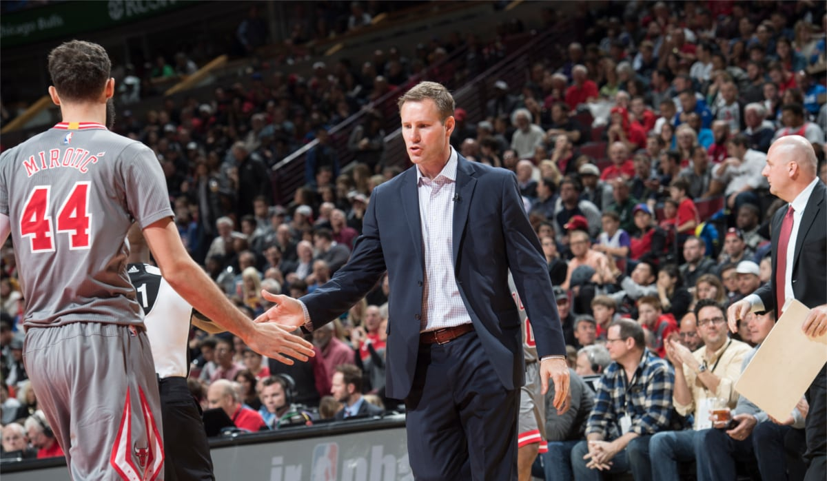 Mirotic and Hoiberg