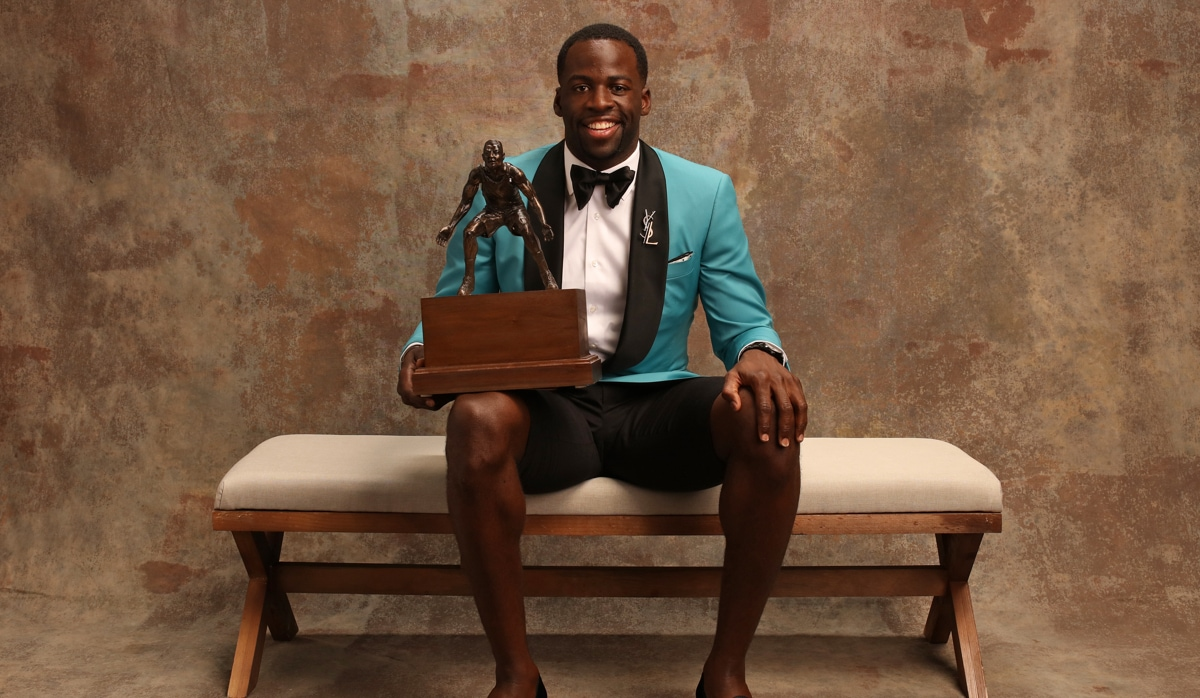 Defensive Player of the Year: Draymond Green, Golden State Warriors