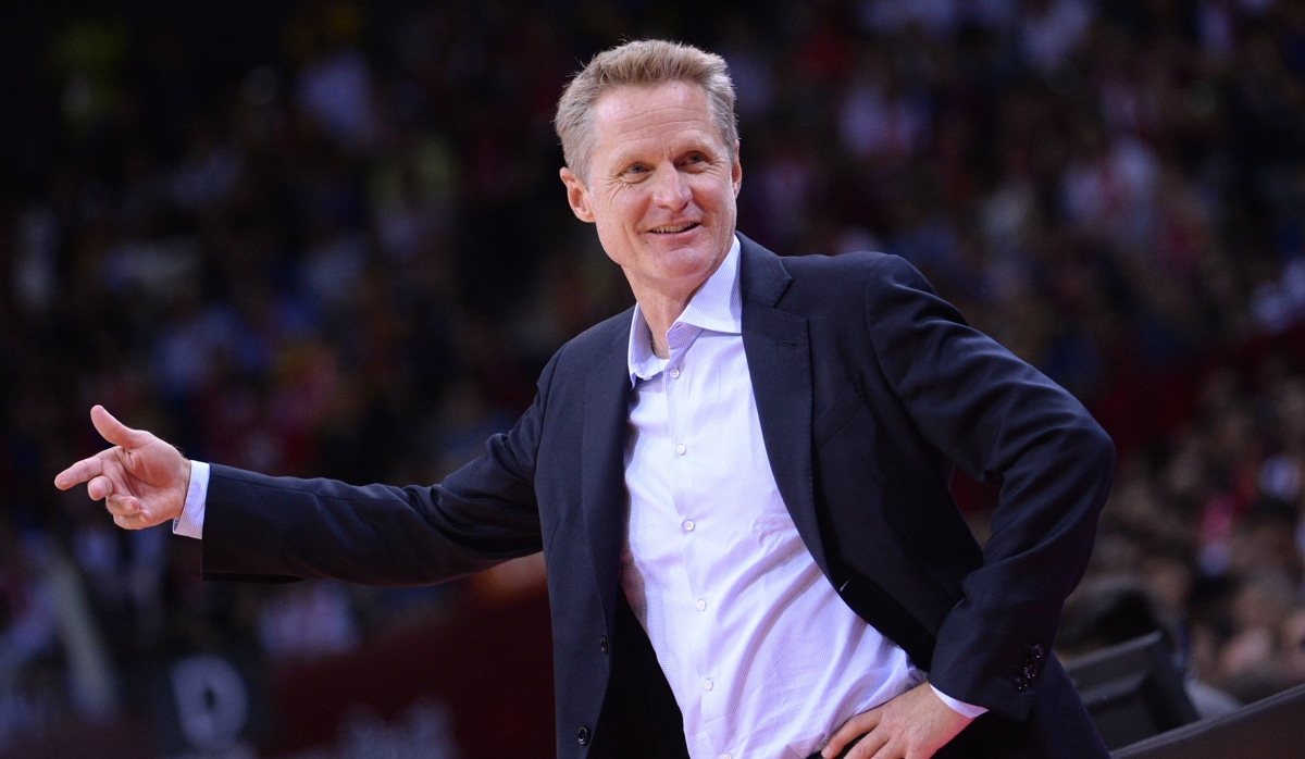 Coach of the Year: Steve Kerr, Golden State Warriors