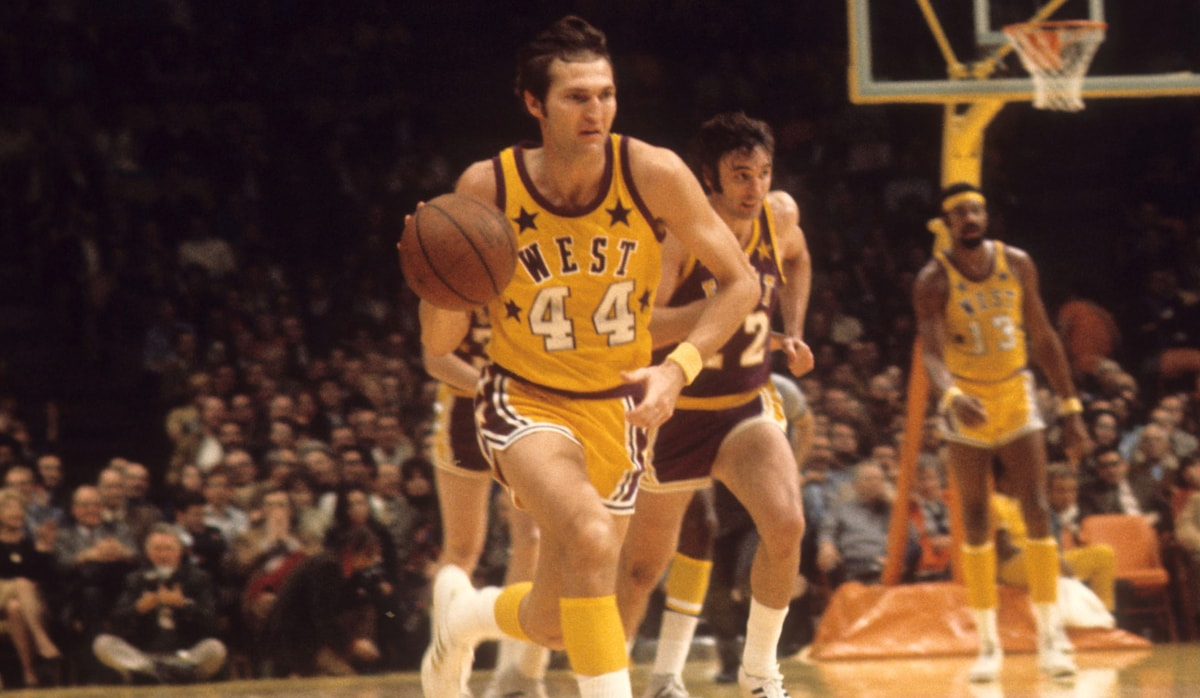 Jerry West - 1972 NBA All-Star Game