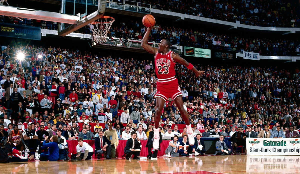 Michael Jordan Slam Dunk Contest - 1988 NBA All-Star Game