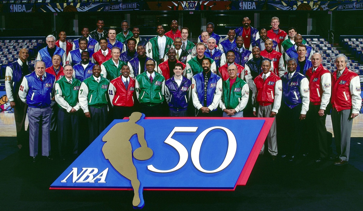 50 Greatest NBA Players - 1997 NBA All-Star Game