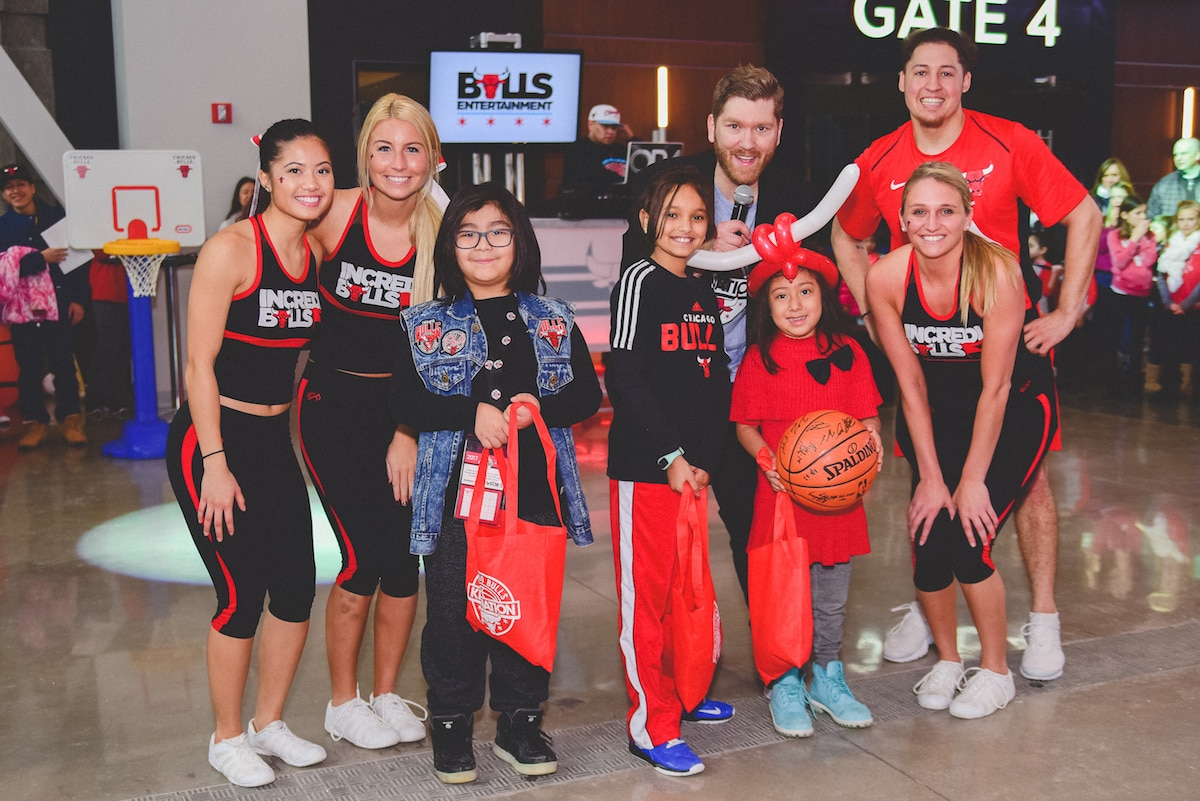 Bulls host first kid nation pre game party chicago bulls before the bulls vs heat on jan 15 the first ever pre kristyandbryce Image collections