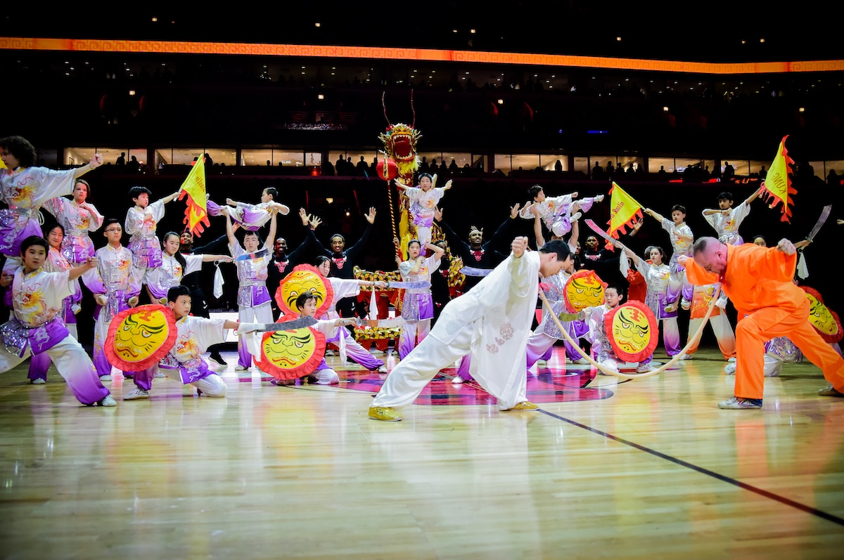 Chicago Bulls and ZTE host Chinese New Year celebration | Chicago Bulls