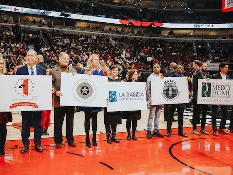 Chicago Bulls Charities Awards Grants to 28 Chicagoland Non-Profits