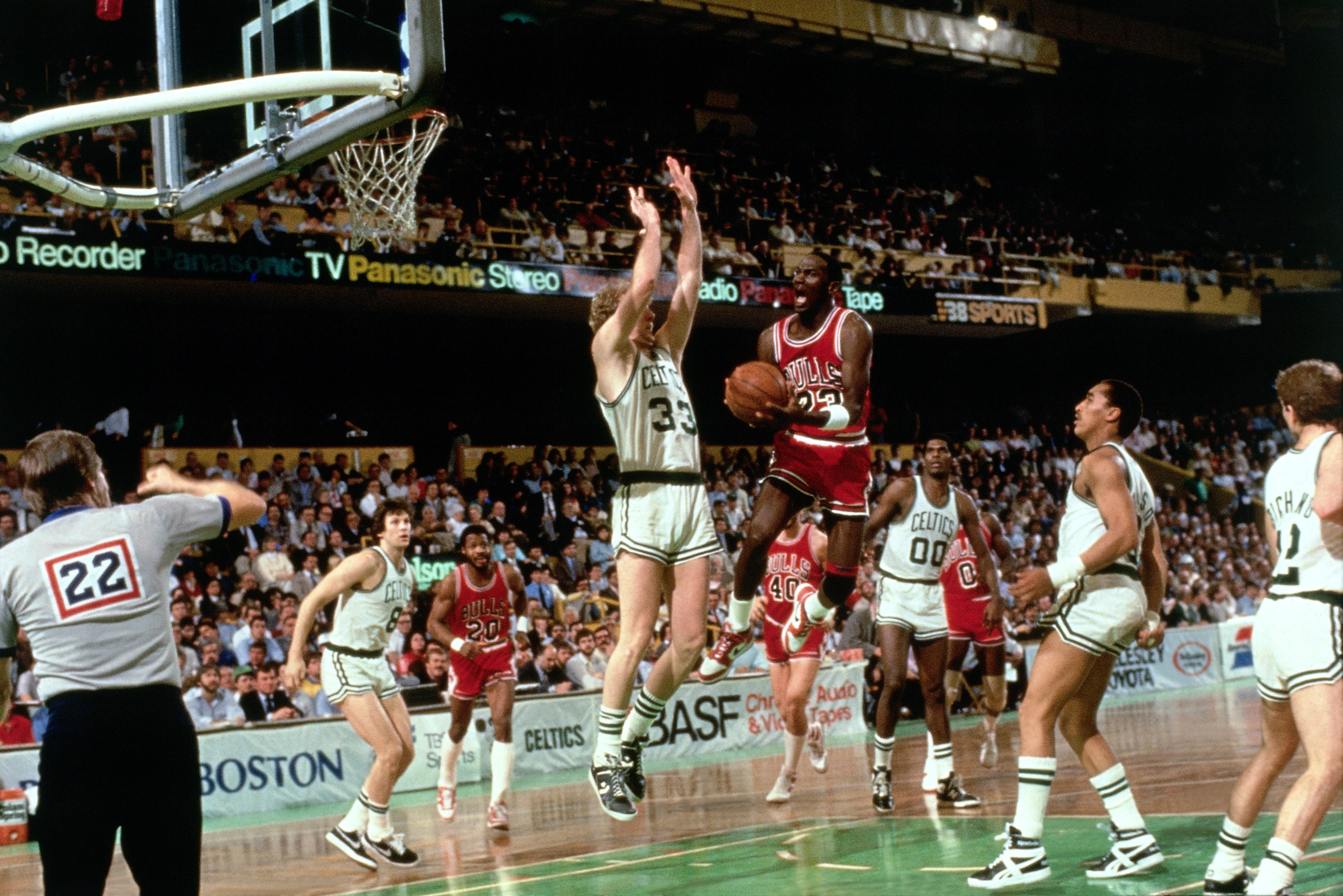 1987 NBA on CBS – Bulls vs Celtics – Playoffs Game 2 Intro
