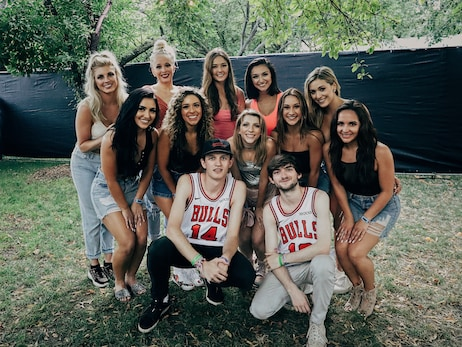 Chicago Bulls attend Lollapalooza