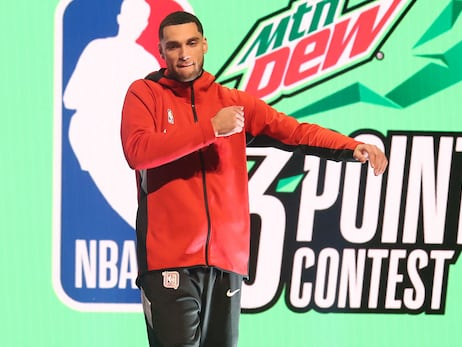 Zach LaVine has respectable showing in All-Star 3-point contest but doesn't advance