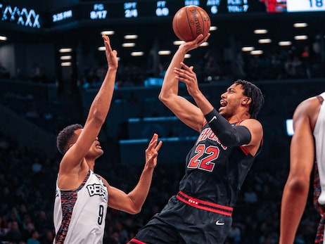 Otto Porter, Coby White provide spark off the bench but Bulls fall to Nets