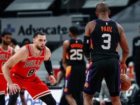 Bulls fall to Suns, turnovers prove costly