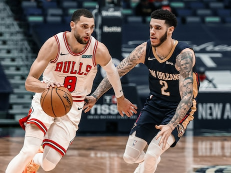 Bulls hold off Pelicans, head into All-Star break 16-18