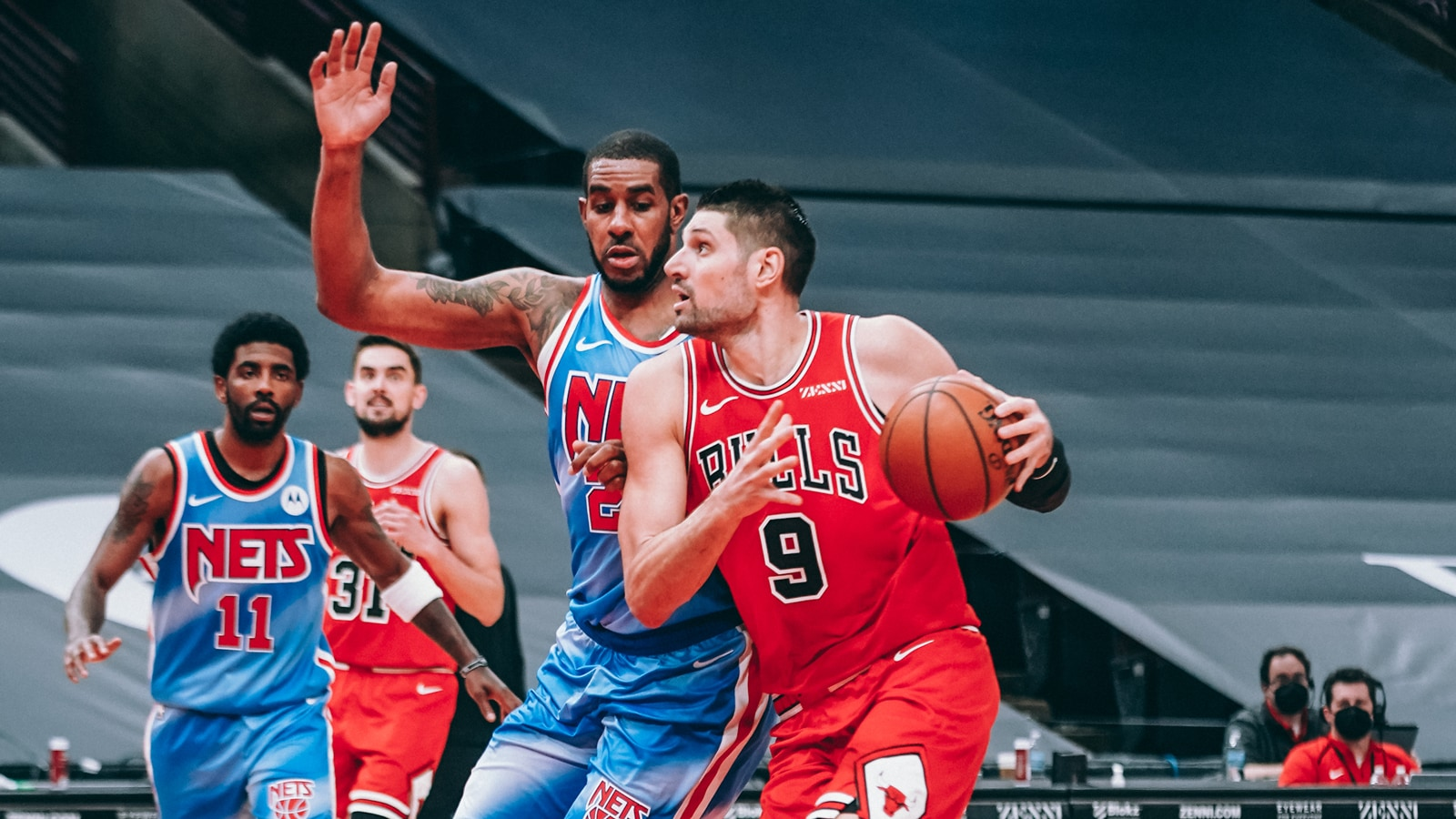 Vucevic, LaVine lead Bulls past Nets to end losing skid | Chicago Bulls