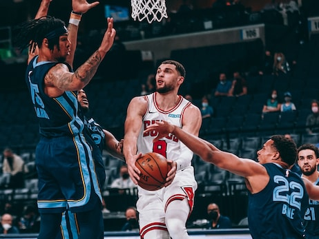 Bulls struggle shooting against Grizzlies, fall 101-90