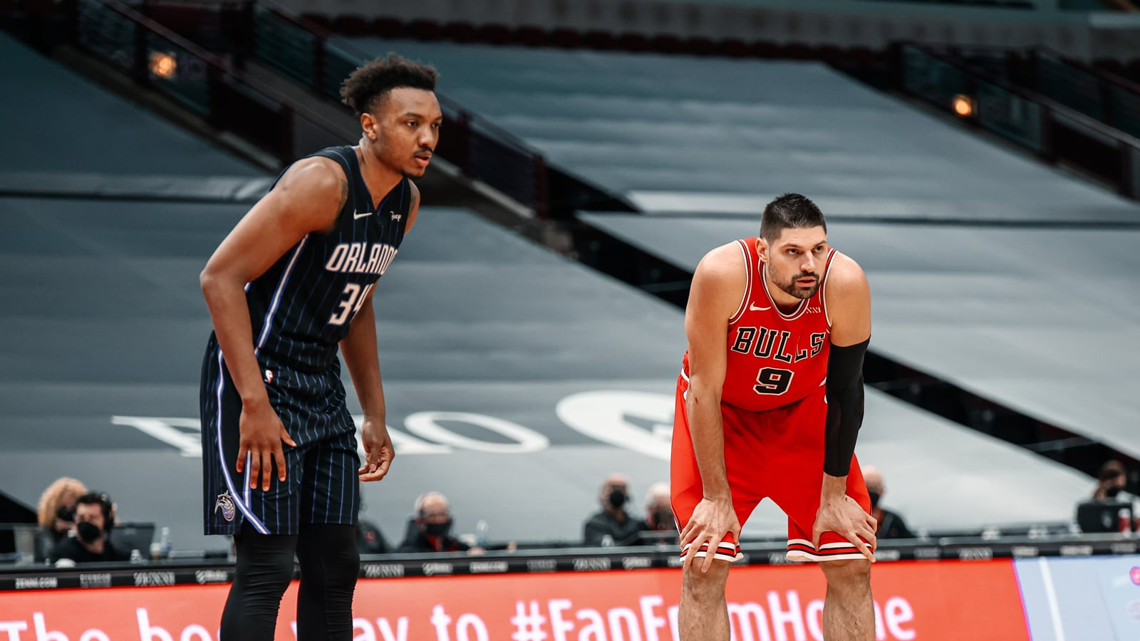 Vucevic and Carter Jr. duel in first matchup since trade Bulls fall to Magic