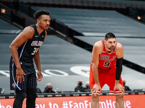 Vucevic and Carter Jr. duel in first matchup since trade, Bulls fall to Magic