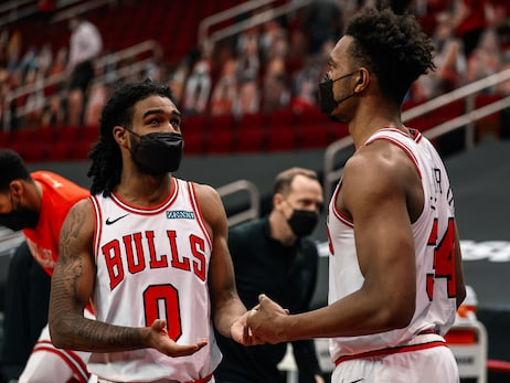 Photo Gallery: Bulls Beat Rockets in Houston