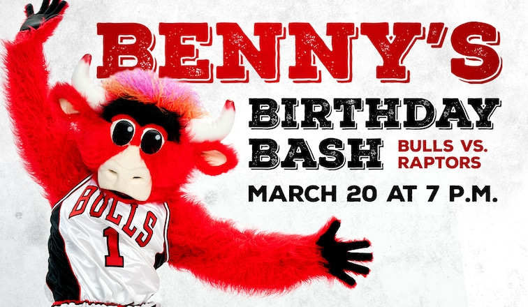 Benny's Birthday Bash Friday, March 20th