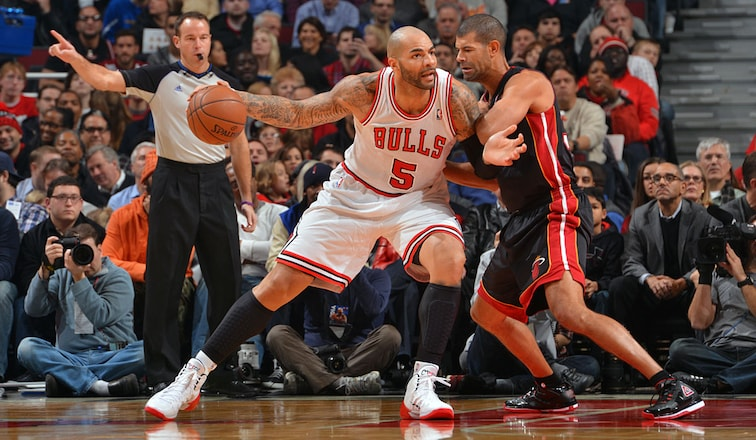 Carlos Boozer looks to make his move