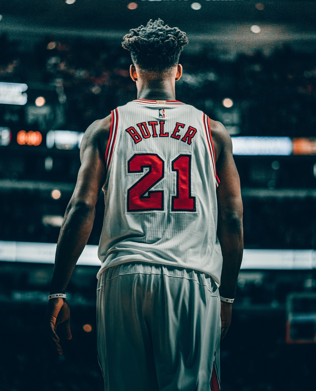 Jimmy Butler, at the United Center