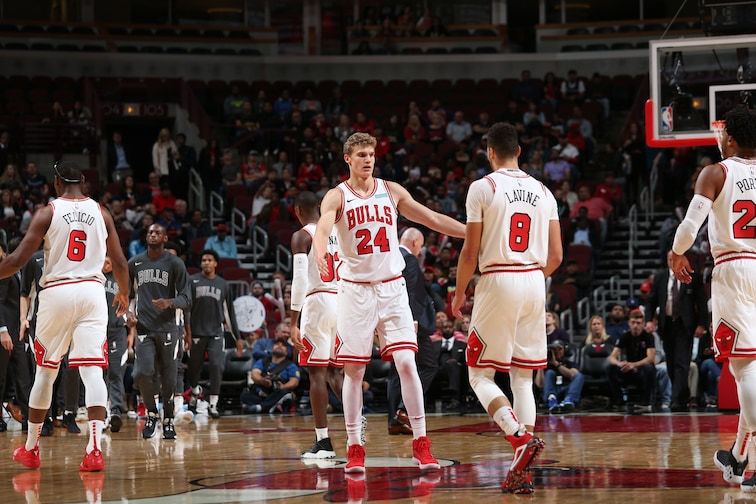 Lauri Markkanen and Zach LaVine vs. The Bucks