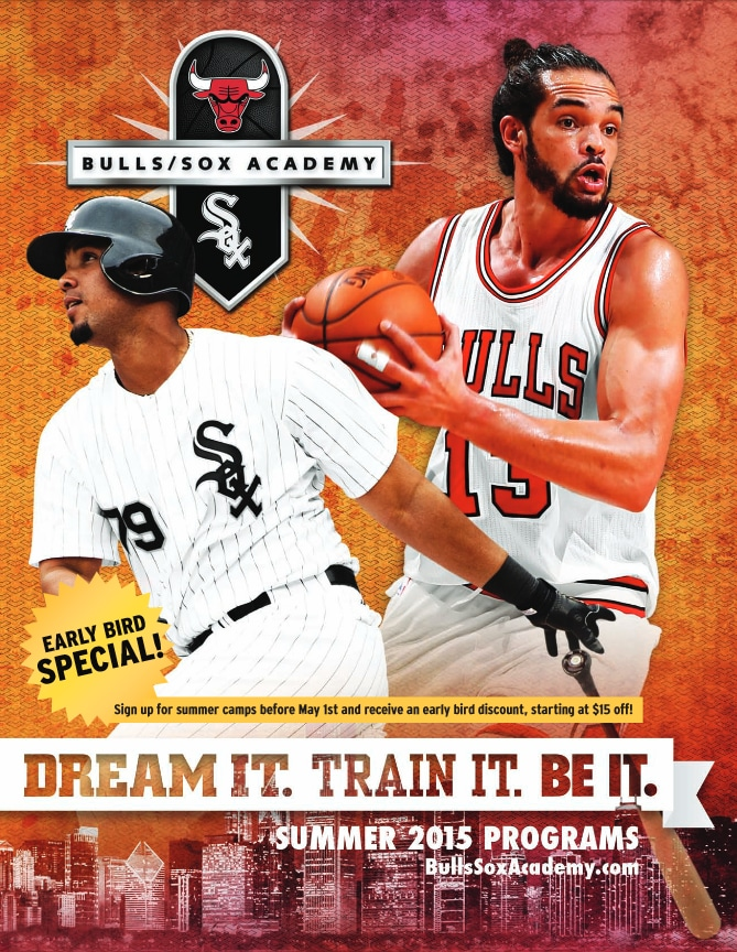 Bulls/Sox Academy 2015 Summer Brochure downloadable PDF