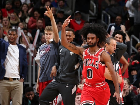 Coby White Catches Fire in Fourth As Bulls Claim Win Over Knicks